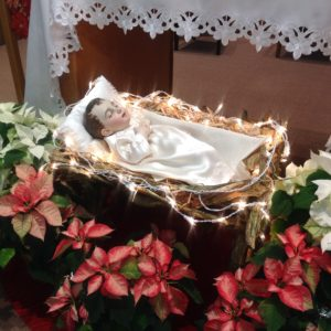 THE CHILD JESUS WAS BORN FOR THE LOVE OF HUMANITY.